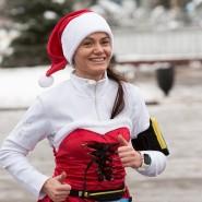 Благотворительный забег Дедов Морозов на ВДНХ 2018 фотографии