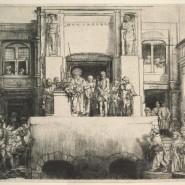 Выставка «Рембрандт, Ливенс, Бол. Офорты из собрания ГМИИ им. А.С. Пушкина» фотографии