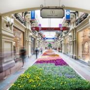 Фестиваль живых цветов в ГУМе фотографии