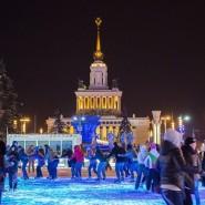 Новогодняя ночь 2016 на катке ВДНХ фотографии