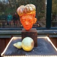 Выставка тыквенных скульптур «Время жизни» фотографии