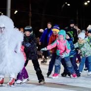 Каток «Серебряный Лед» в Измайловском парке 2020-2021 фотографии