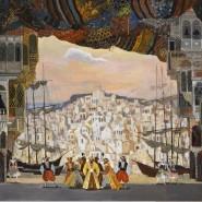 Выставка «Левенталь. Сцена и живопись» фотографии