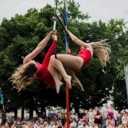Фестиваль воздушной гимнастики в Парке Горького 2019 фотографии