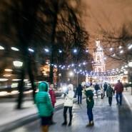 Новогодняя ночь в Саду имени Баумана 2017 фотографии