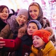 Новогодняя ночь 2019 в парках Москвы фотографии