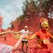 Красочный забег в «Лужниках» 2017 фотографии