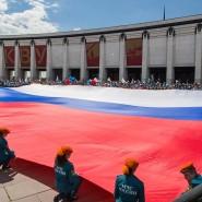 Акция «Цвета Российского Флага» 2020 фотографии