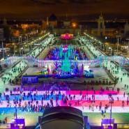 Новогодняя ночь 2017 на катке ВДНХ фотографии