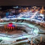 Рождественский бал на катке ВДНХ 2017 фотографии