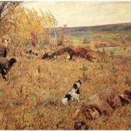 Выставка «Память поколений: Великая Отечественная война в изобразительном искусстве» фотографии