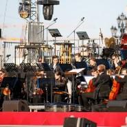 Концертная программа на площади перед храмом Христа Спасителя 2019 фотографии