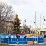 Каток в Московском метрополитене 2019/20 фотографии