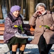 8 Марта в парках Москвы 2020 фотографии