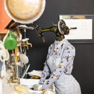 Выставка «Коридоры. Семь миров Высоцкого» фотографии