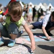 День защиты детей на Цветном бульваре фотографии
