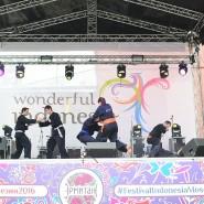 Второй  Фестиваль Индонезии в саду «Эрмитаж» фотографии