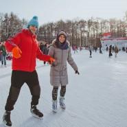 Каток «Лед» в парке «Сокольники» 2016 фотографии