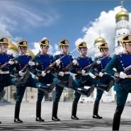 Развод конных и пеших караулов Президентского полка 2017 фотографии