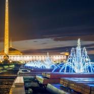 Новогодняя ночь 2016 в Парке Победы на Поклонной горе фотографии