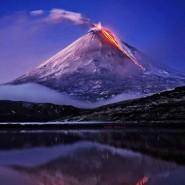 Выставка «Вулканы России» фотографии