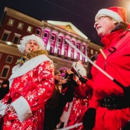 Парад Дедов Морозов 2019 фотографии