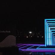 Стереокаток в Парке Горького 2017/18 фотографии