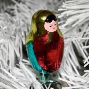 Выставка истории елочной игрушки «Советское нарядное» фотографии