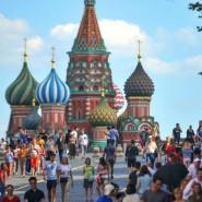 Акция «Москва — столица мирового футбола» 2018 фотографии
