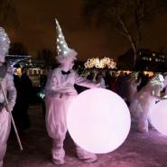 Рождество в парках Москвы 2017 фотографии