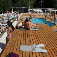 Места для пляжного отдыха в Москве 2015 фотографии