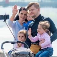 День семьи, любви и верности в парках Москвы 2019 фотографии