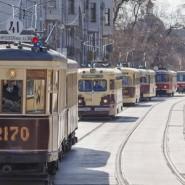 Праздничный парад трамваев 2016 фотографии