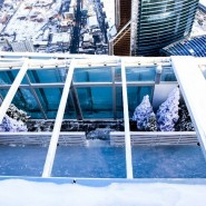 Каток на крыше «Москва-Сити» 2016 фотографии