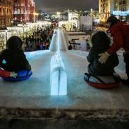 Ледяная горка на Красной площади 2017/18 фотографии