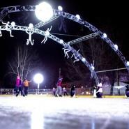 Открытие зимнего сезона в Саду «Эрмитаж» 2015 фотографии
