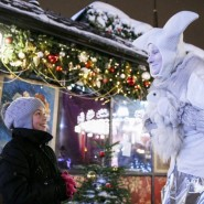 Рождество в парках Москвы 2020 фотографии