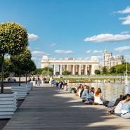 Российская Креативная Неделя в Парке Горького 2020 фотографии
