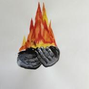 Выставка «Только бумага. Александр Повзнер» фотографии