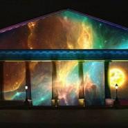Cветовые шоу на фасаде «Манежа» 2017/18 фотографии