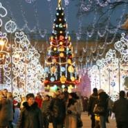 Новогодняя ночь 2016 в парках Москвы фотографии
