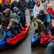 День Защитника Отечества в Перовском парке 2018 фотографии