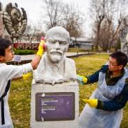 Субботник в парке искусств «Музеон» 2018 фотографии