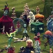 Анимационная выставка «Потолок. Придуманные миры» фотографии
