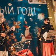 Новый год 2017 в парках Москвы фотографии