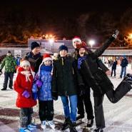 Новогодняя ночь в парке «Сокольники» 2020 фотографии