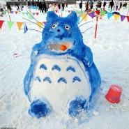 Арт-битва снеговиков 2017 фотографии