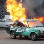 Шоу каскадеров «Русский Форсаж» 2019 фотографии