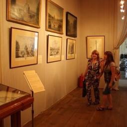 Выставка «Архитектурная линия. Виды усадьбы Кусково в графике и живописи»