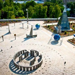 Астрономическая площадка «Парк неба» в Московском Планетарии 2021